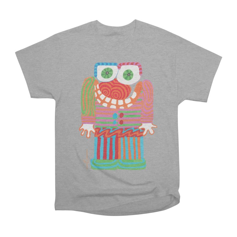 Goofy Smile Men's Heavyweight T-Shirt by Good Morning Smile
