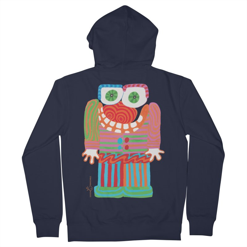 Goofy Smile Women's French Terry Zip-Up Hoody by Good Morning Smile