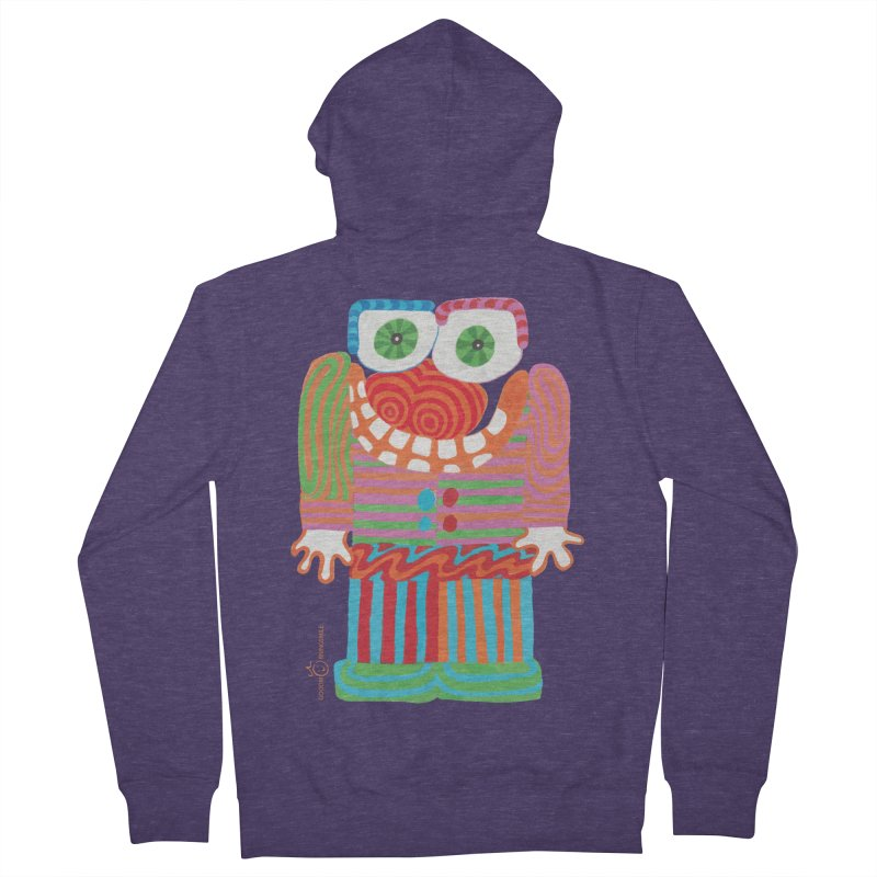 Goofy Smile Men's Zip-Up Hoody by Good Morning Smile