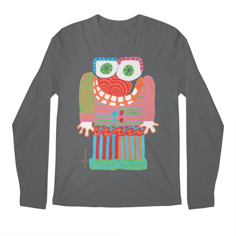 Goofy Smile Men's Regular Longsleeve T-Shirt by Good Morning Smile