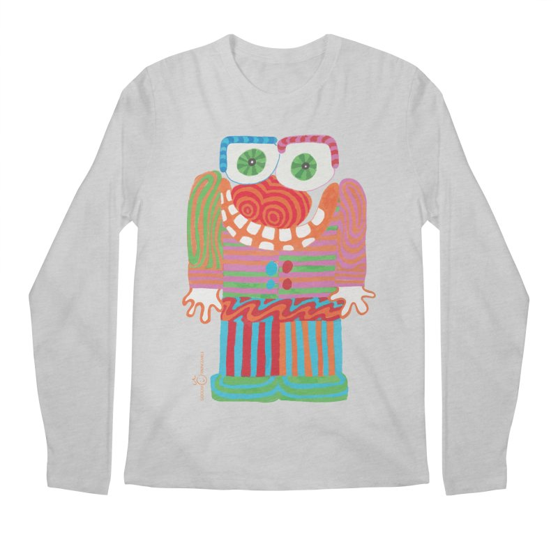Goofy Smile Men's Regular Longsleeve T-Shirt by Good Morning Smile