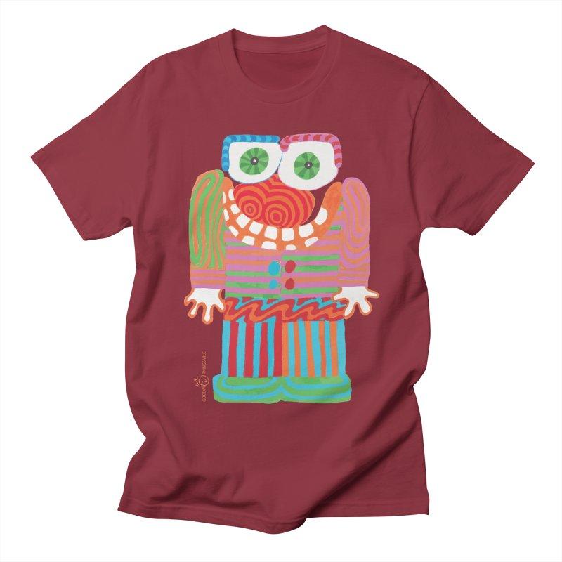 Goofy Smile Men's Regular T-Shirt by Good Morning Smile