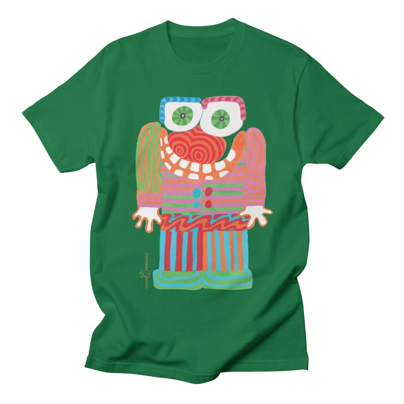 Goofy Smile Men's Regular T-Shirt by Good Morning Smile