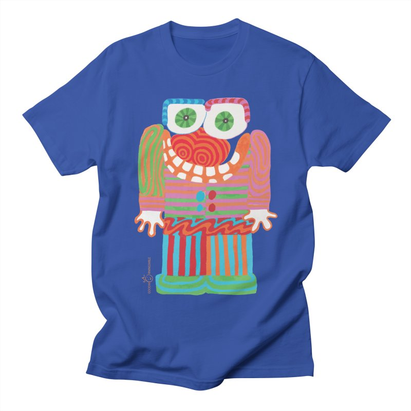 Goofy Smile Women's Regular Unisex T-Shirt by Good Morning Smile