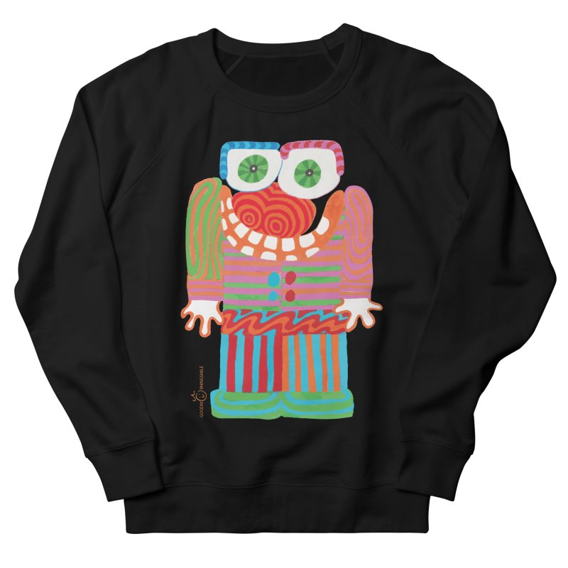 Goofy Smile Men's French Terry Sweatshirt by Good Morning Smile