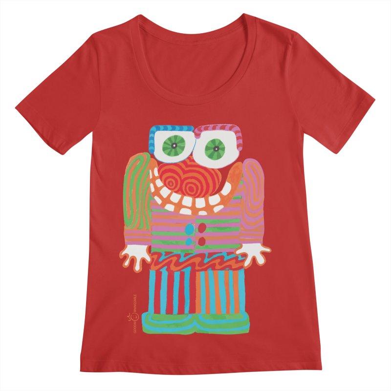 Goofy Smile Women's Scoop Neck by Good Morning Smile