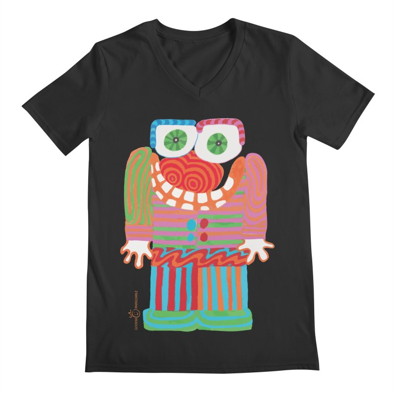 Goofy Smile Men's V-Neck by Good Morning Smile
