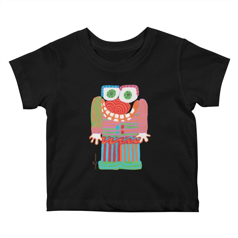 Goofy Smile Kids Baby T-Shirt by Good Morning Smile