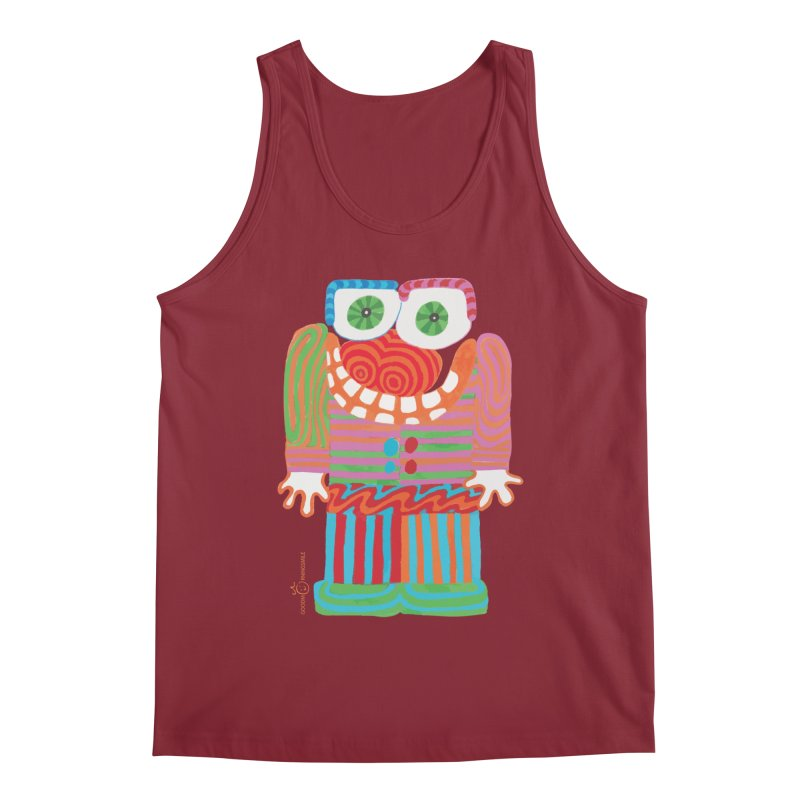 Goofy Smile Men's Regular Tank by Good Morning Smile