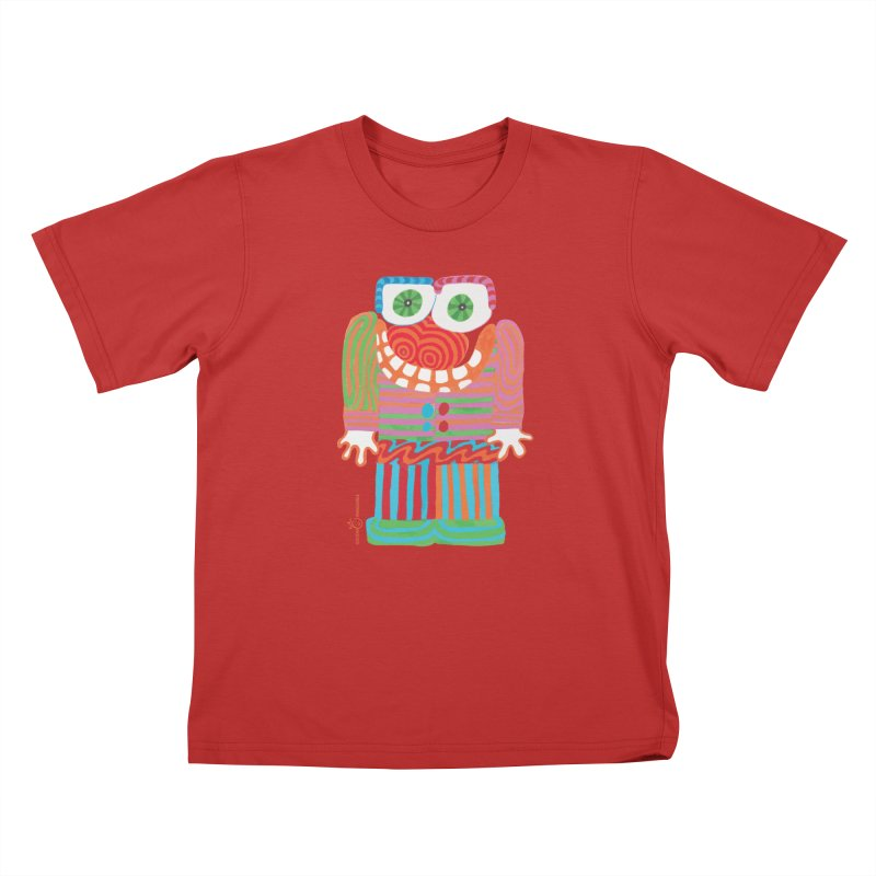 Goofy Smile Kids T-Shirt by Good Morning Smile