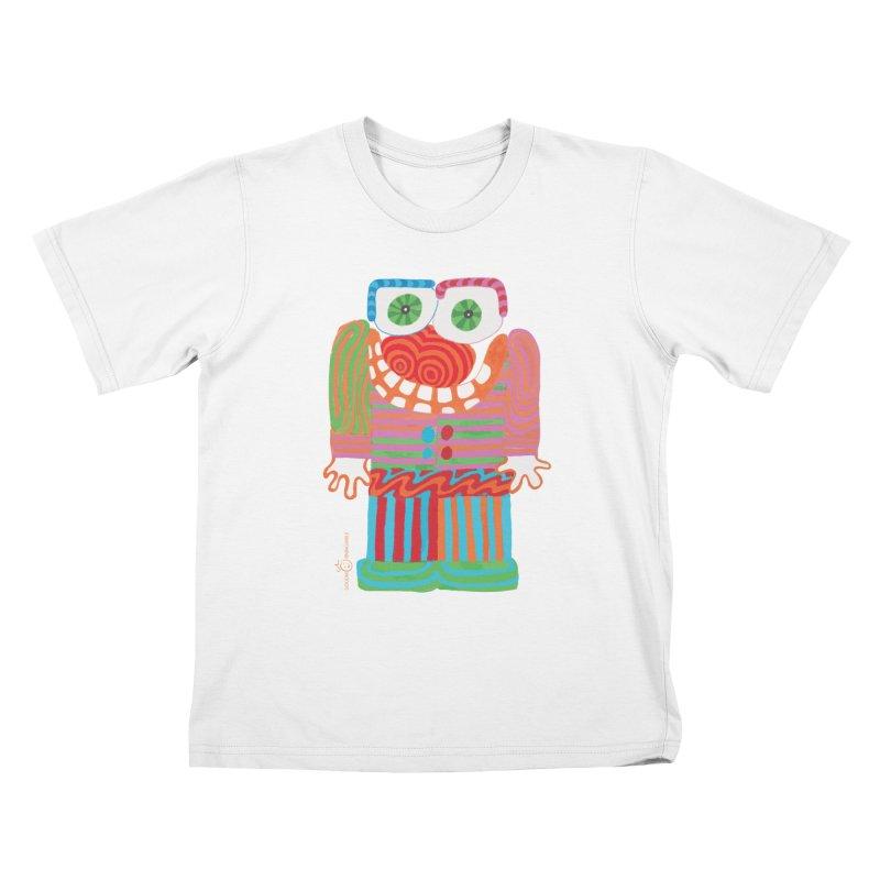 Goofy Smile Kids T-Shirt by Good Morning Smile