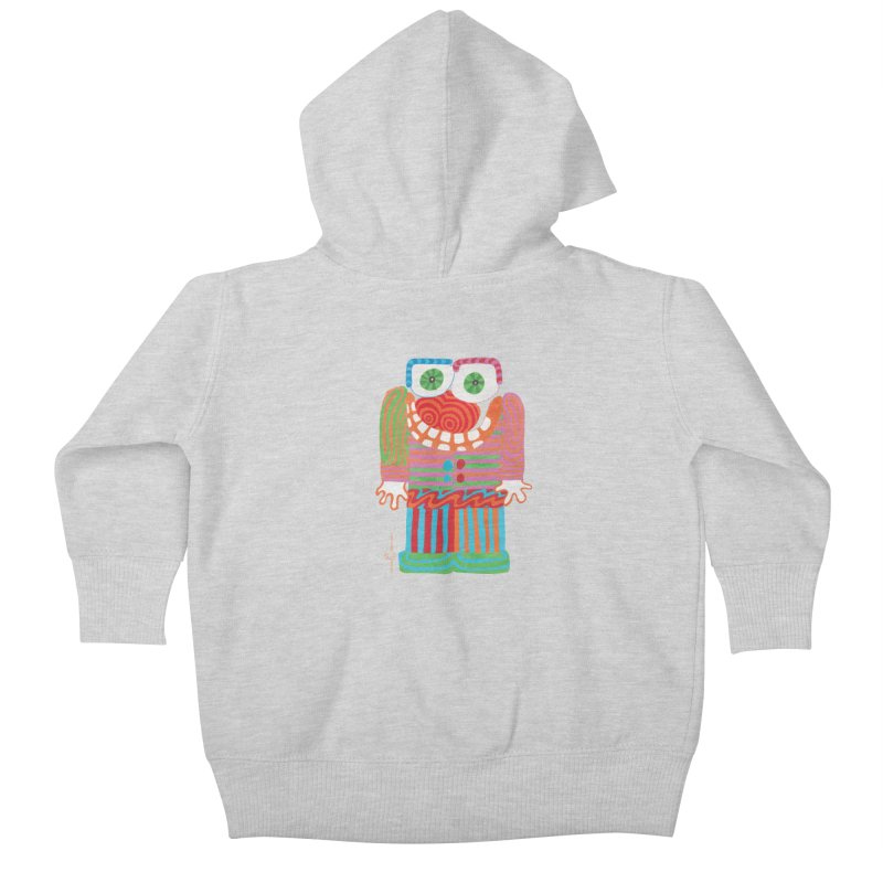 Goofy Smile Kids Baby Zip-Up Hoody by Good Morning Smile