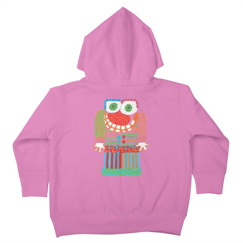 Goofy Smile Kids Toddler Zip-Up Hoody by Good Morning Smile