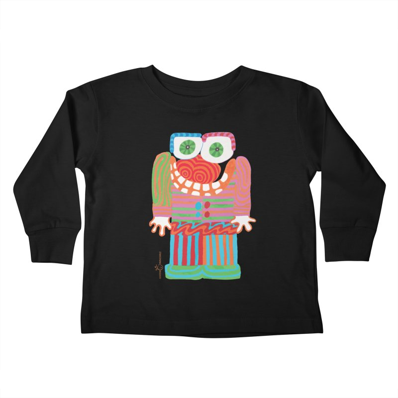 Goofy Smile Kids Toddler Longsleeve T-Shirt by Good Morning Smile