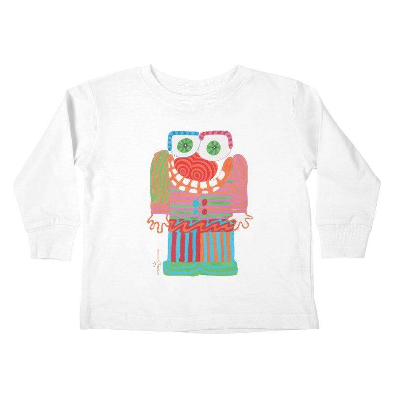 Goofy Smile Kids Toddler Longsleeve T-Shirt by Good Morning Smile