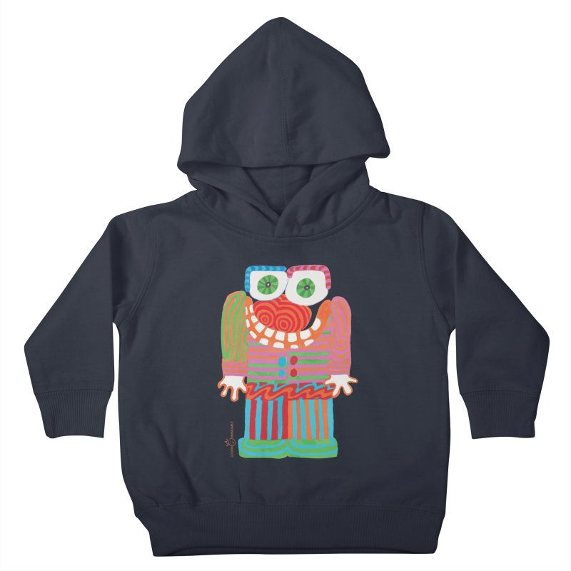 Goofy Smile Kids Toddler Pullover Hoody by Good Morning Smile