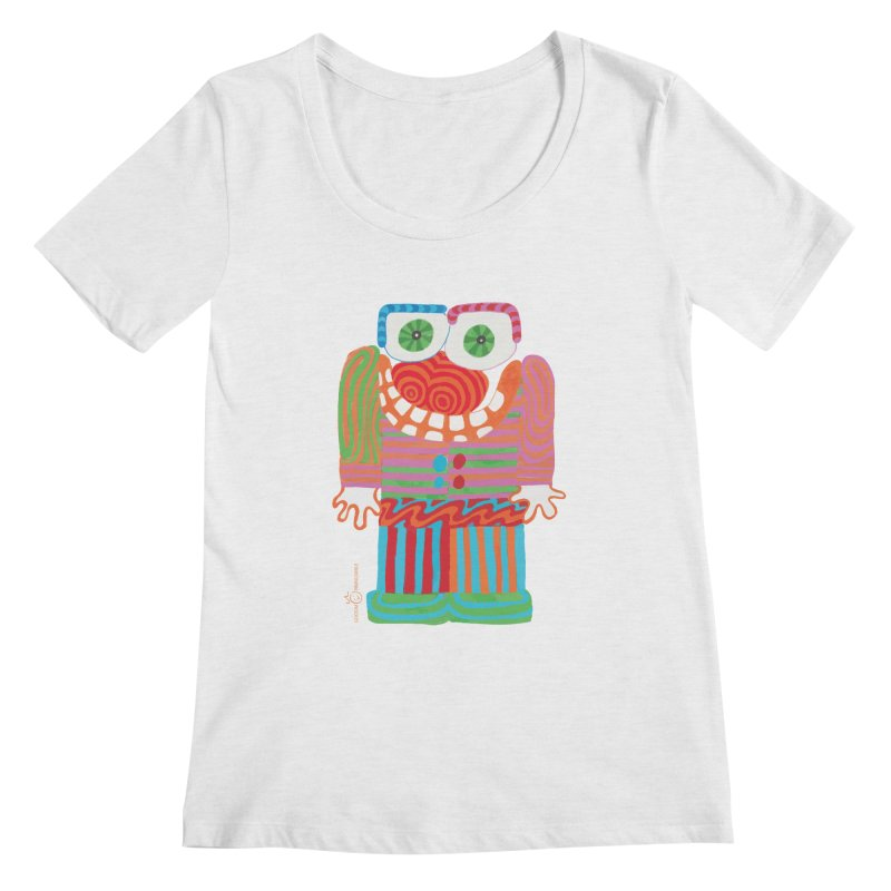 Goofy Smile Women's Regular Scoop Neck by Good Morning Smile