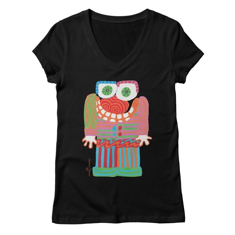 Goofy Smile Women's V-Neck by Good Morning Smile