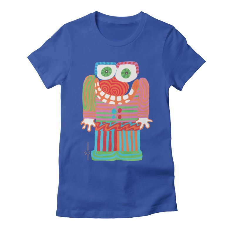 Goofy Smile Women's Fitted T-Shirt by Good Morning Smile