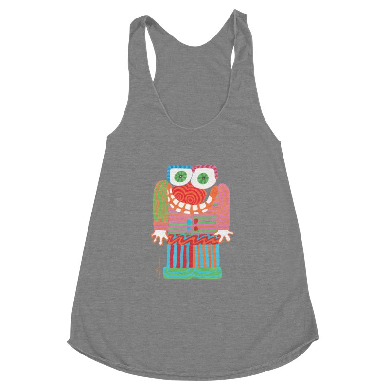 Goofy Smile Women's Racerback Triblend Tank by Good Morning Smile