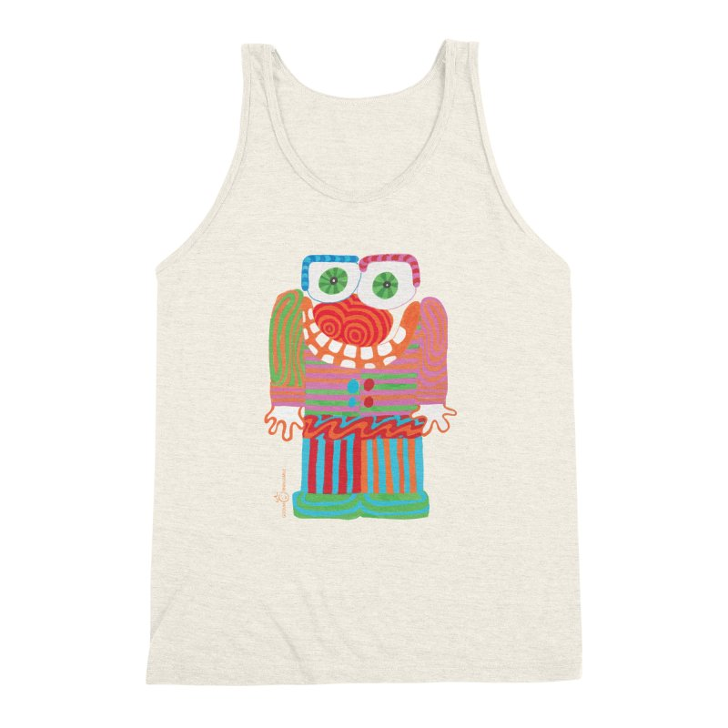 Goofy Smile Men's Triblend Tank by Good Morning Smile