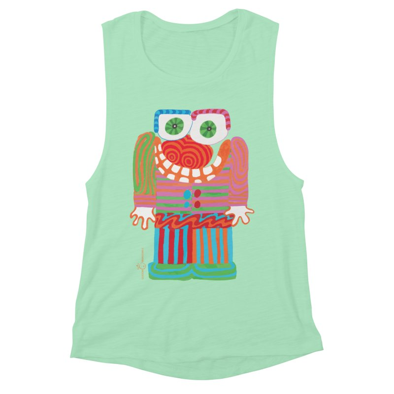 Goofy Smile Women's Tank by Good Morning Smile