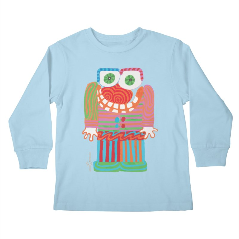Goofy Smile Kids Longsleeve T-Shirt by Good Morning Smile