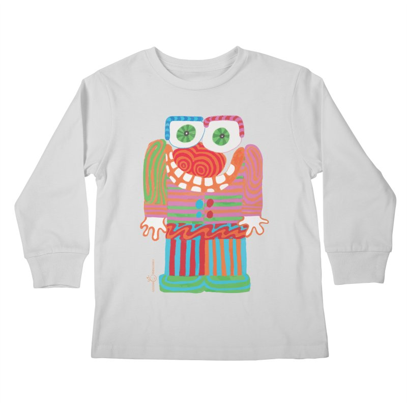 Goofy Smile Kids Longsleeve T-Shirt by Good Morning Smile