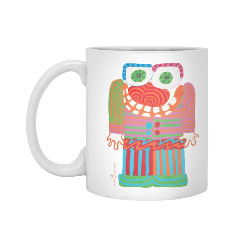 Goofy Smile Accessories Standard Mug by Good Morning Smile