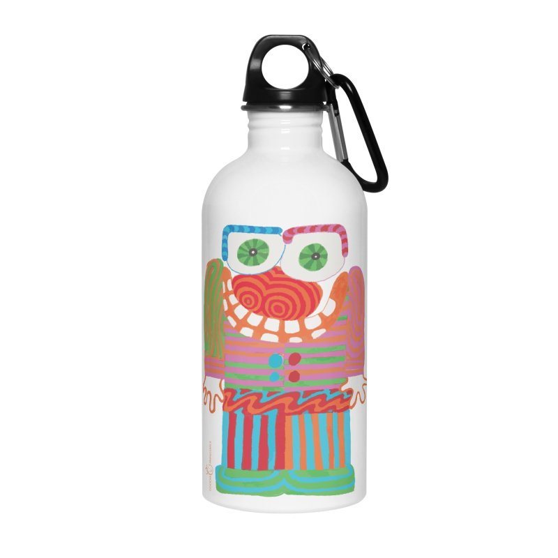 Goofy Smile Accessories Water Bottle by Good Morning Smile