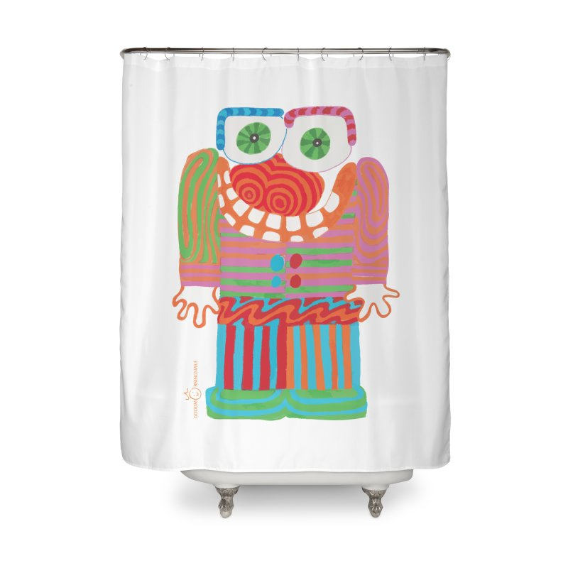 Goofy Smile Home Shower Curtain by Good Morning Smile