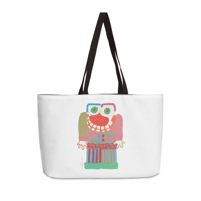 Goofy Smile Accessories Weekender Bag Bag by Good Morning Smile
