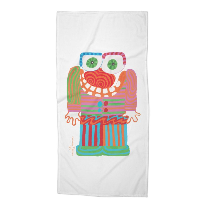 Goofy Smile Accessories Beach Towel by Good Morning Smile