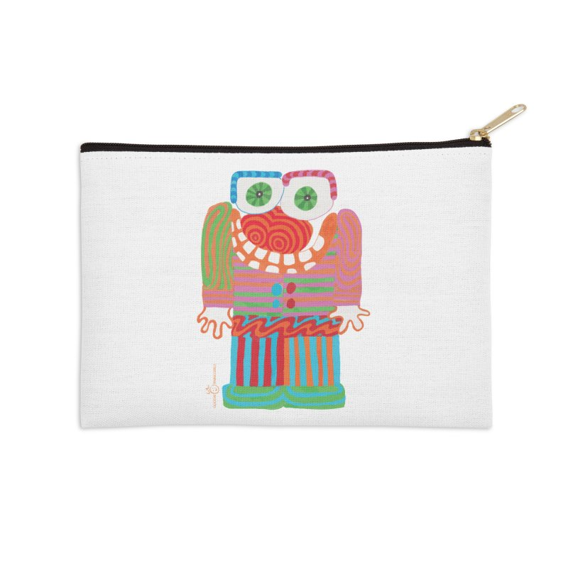 Goofy Smile Accessories Zip Pouch by Good Morning Smile
