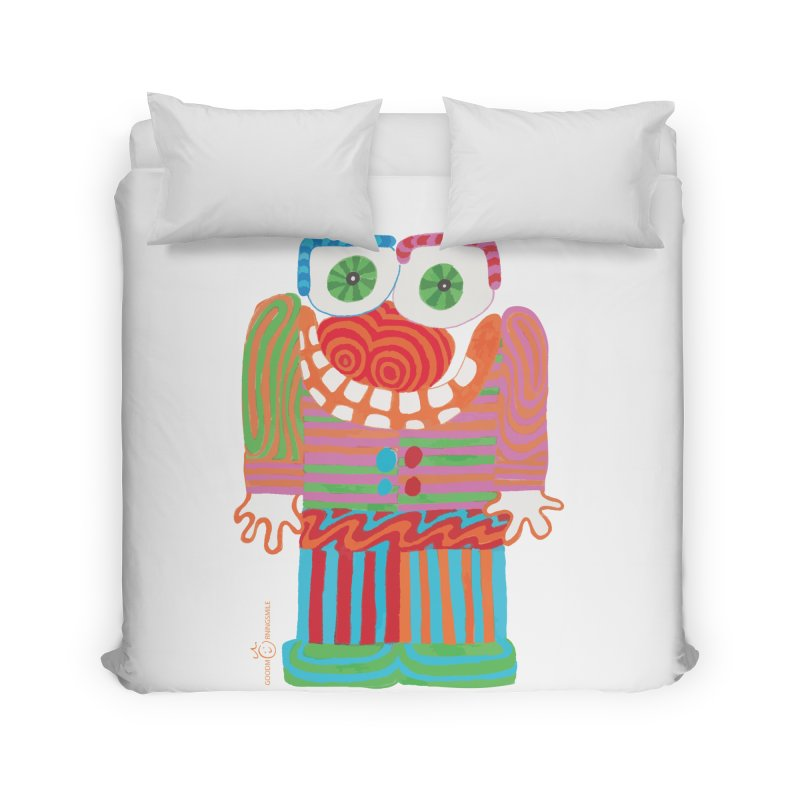 Goofy Smile Home Duvet by Good Morning Smile