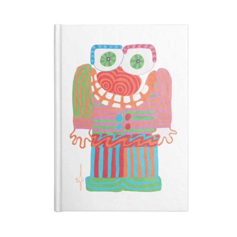 Goofy Smile Accessories Notebook by Good Morning Smile