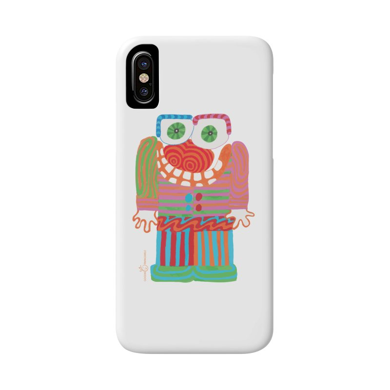 Goofy Smile Accessories Phone Case by Good Morning Smile