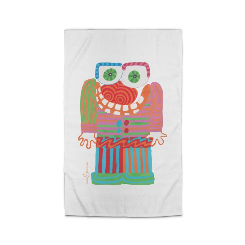 Goofy Smile Home Rug by Good Morning Smile