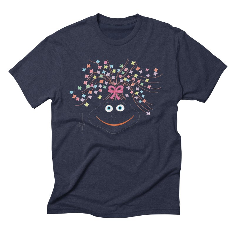 Happy Birthday Smile Men's Triblend T-Shirt by Good Morning Smile