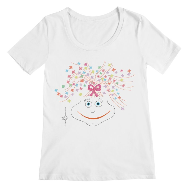 Happy Birthday Smile Women's Regular Scoop Neck by Good Morning Smile