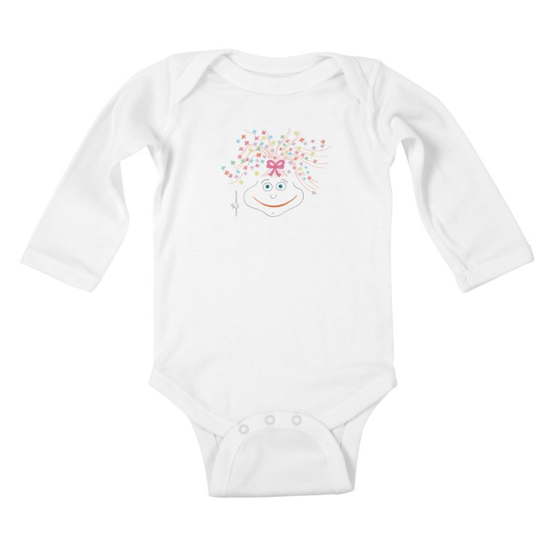 Happy Birthday Smile Kids Baby Longsleeve Bodysuit by Good Morning Smile