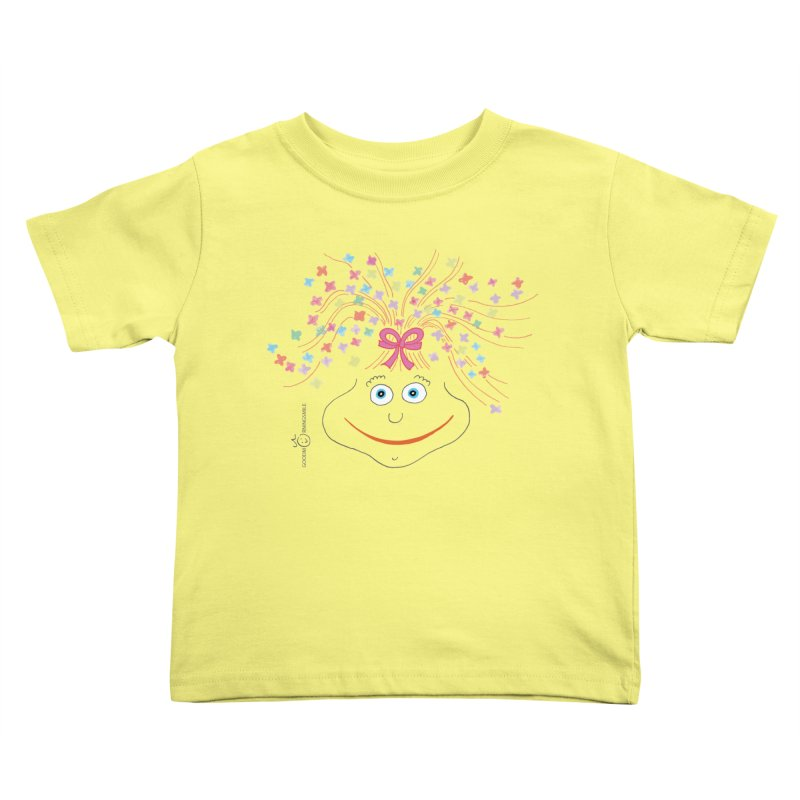 Happy Birthday Smile Kids Toddler T-Shirt by Good Morning Smile