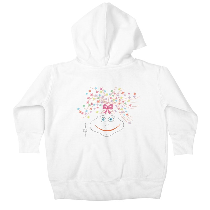 Happy Birthday Smile Kids Baby Zip-Up Hoody by Good Morning Smile