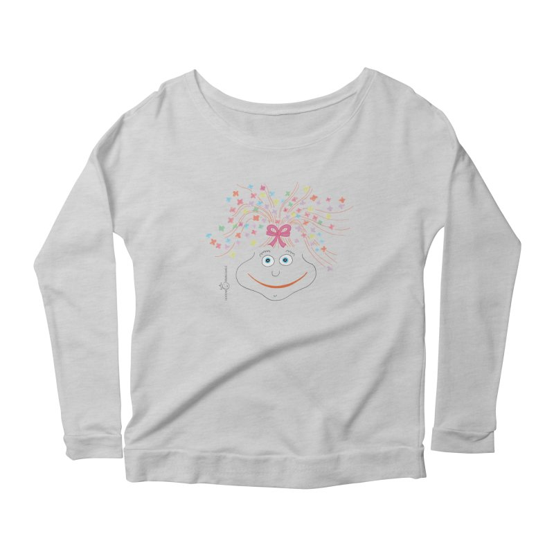 Happy Birthday Smile Women's Scoop Neck Longsleeve T-Shirt by Good Morning Smile