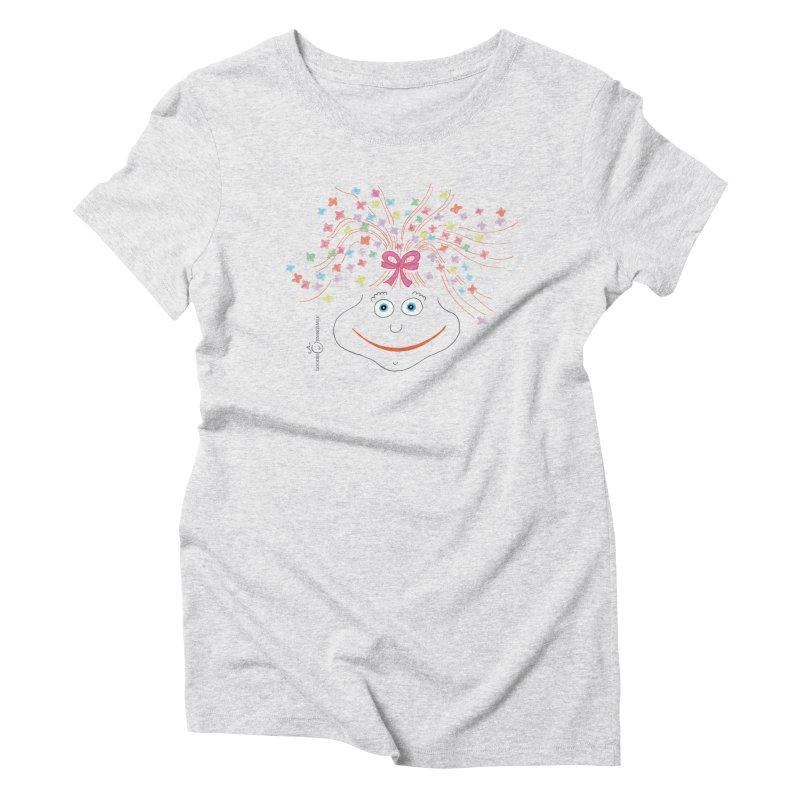 Happy Birthday Smile Women's Triblend T-Shirt by Good Morning Smile