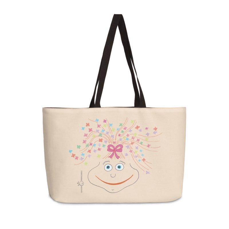 Happy Birthday Smile Accessories Weekender Bag Bag by Good Morning Smile
