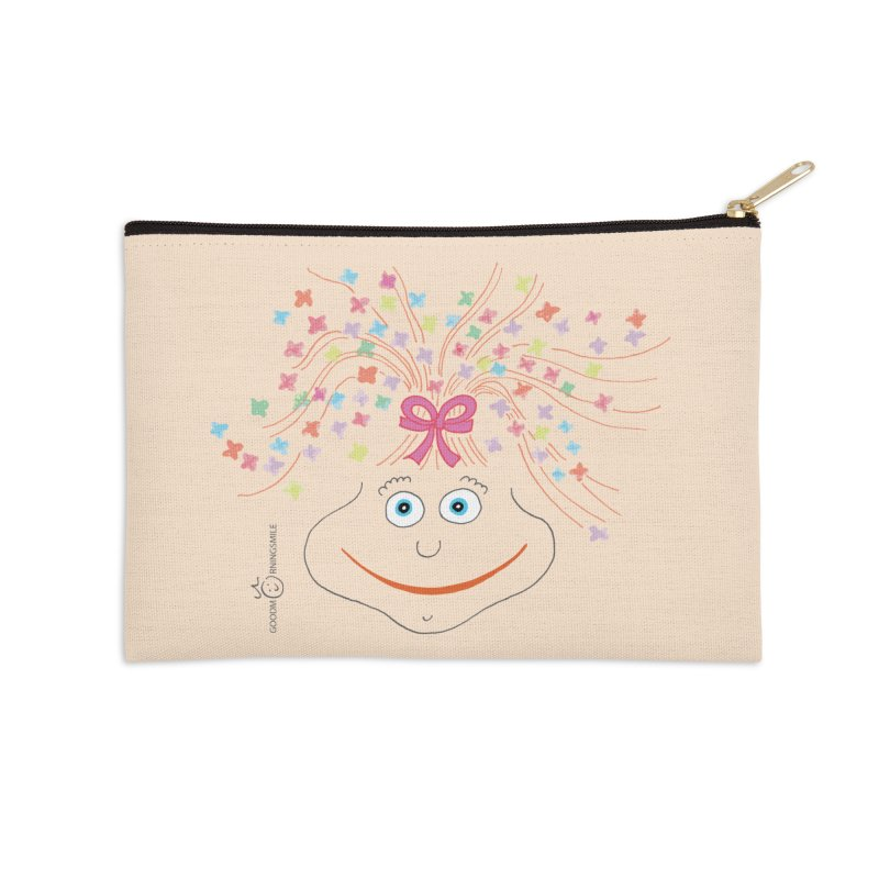 Happy Birthday Smile Accessories Zip Pouch by Good Morning Smile