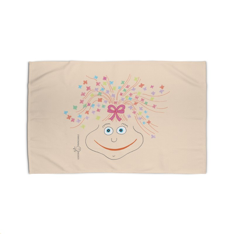Happy Birthday Smile Home Rug by Good Morning Smile