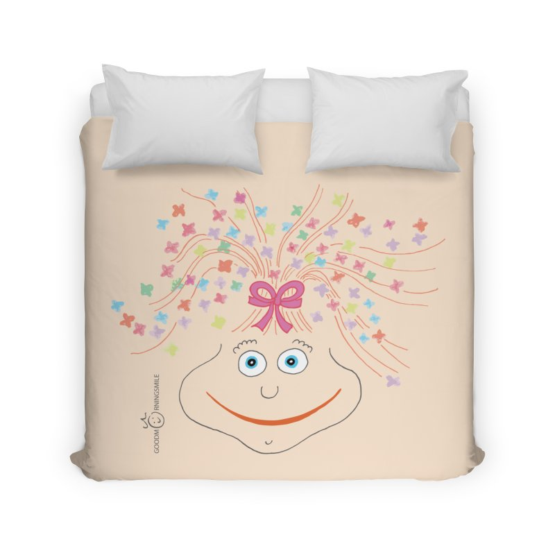 Happy Birthday Smile Home Duvet by Good Morning Smile