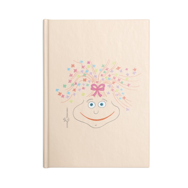 Happy Birthday Smile Accessories Blank Journal Notebook by Good Morning Smile
